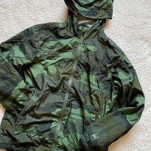 Camo rain jacket, gap rain jacket